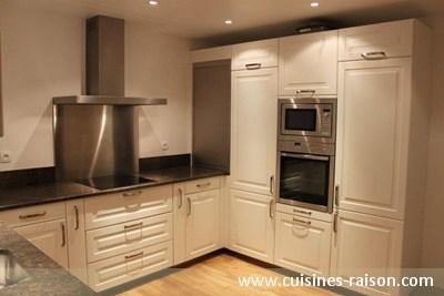 Cuisine en u granit fonce paris 75 cuisines raison for Amenagement cuisine en l