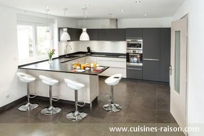 Catalogue des cuisines quip e sur mesure design raison for Cuisine 11m2